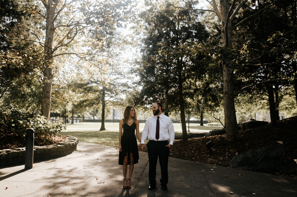 Bicentennial Capitol Mall State Park Engagement Session