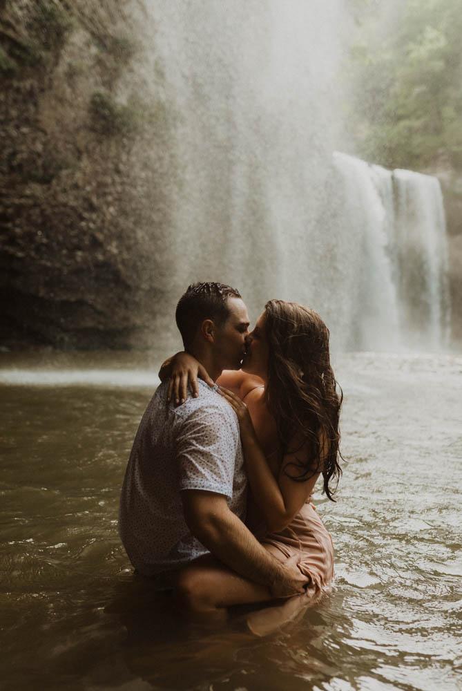 Fall creek falls engagement photos