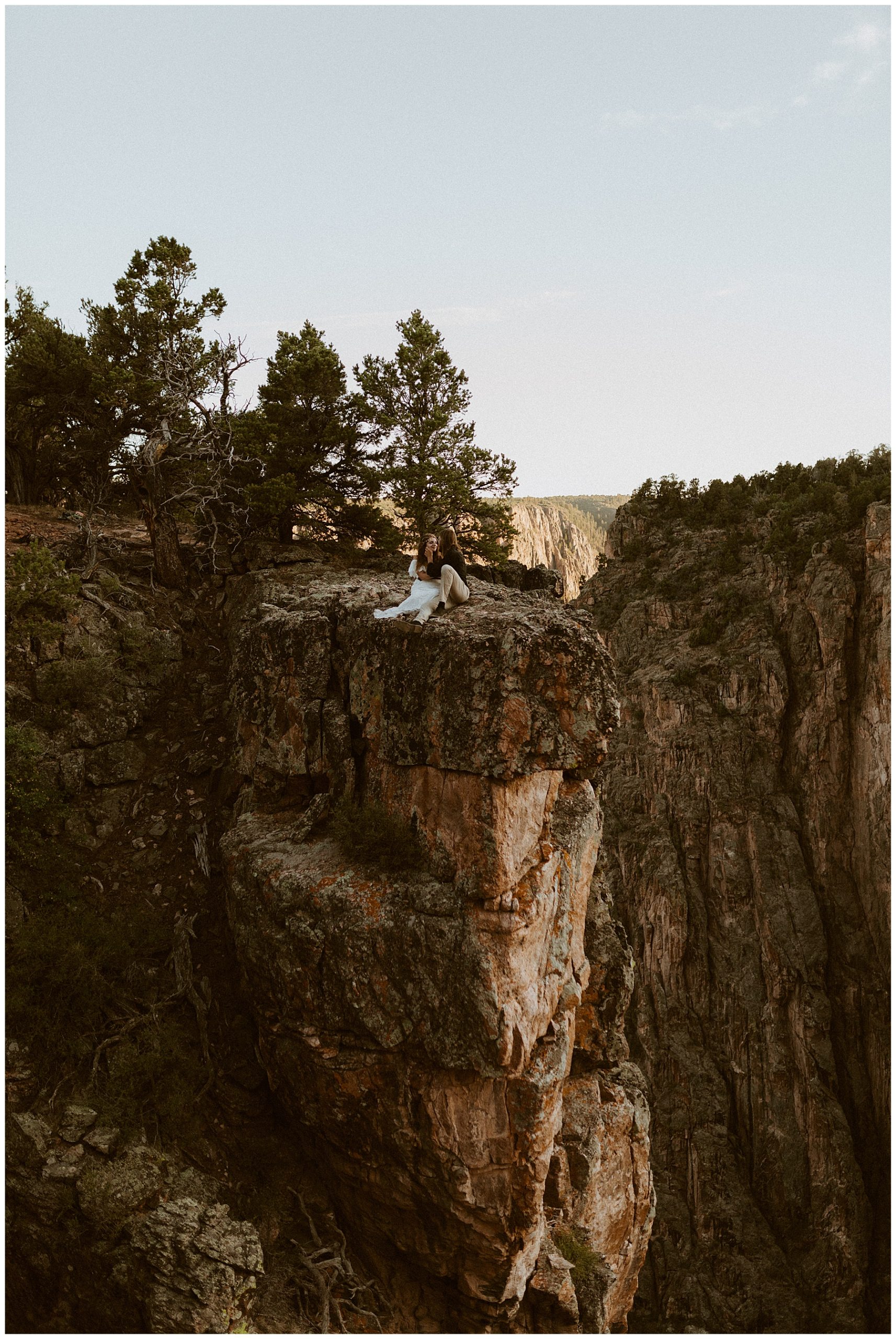 Colorado Canyon Elopement